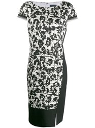 Class Roberto Cavalli Printed Shift Dress Black