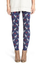 Love By Design Christmas Print Leggings