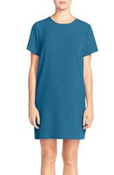 Women's Felicity And Coco Crepe Shift Dress Turkish Tile