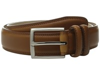 Stacy Adams 35Mm Smooth Leather Dress Belt Cognac Men's Belts Tan