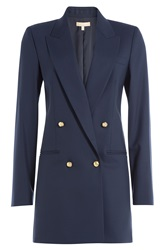 Michael Kors Wool Blazer Blue
