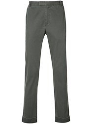 Atm Anthony Thomas Melillo Twill Trousers Grey
