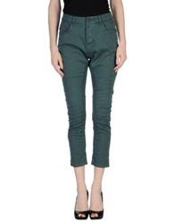 Manila Grace Casual Pants Green