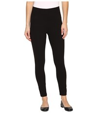 Hue Temp Control Ultra Skimmer With Wide Waistband Black Women's Casual Pants