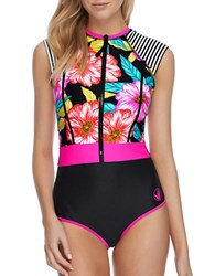 Body Glove Sunlight Stand Up One Piece Paddle Suit Black