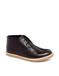 Selected Homme Chukka Boots Black
