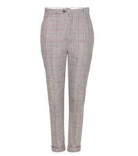 Isabel Marant Plaid Trousers Multicoloured