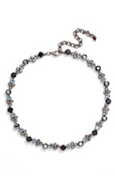 Sorrelli Women's Crystal Collar Necklace Black