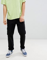 Cheap Monday Neo Slim Fit Twill Trousers Black