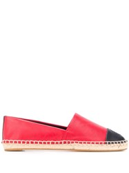 Tory Burch Two Tone Espadrilles Red