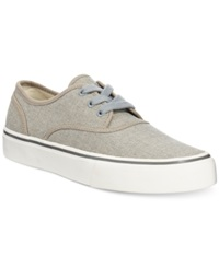 Polo Ralph Lauren Morray Lace Up Sneakers Men's Shoes Grey Burlap