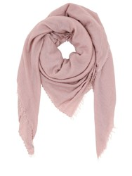 Faliero Sarti Soft Cashmere And Silk Scarf Pink