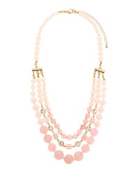 Fragments For Neiman Marcus Multi Strand Statement Necklace Gold