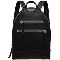 Mulberry Zip Backpack Black