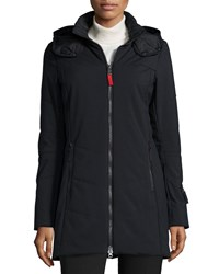 Bogner Irena Three Layer Stretch Hooded Coat Black 026
