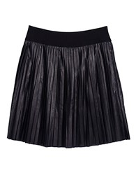 Melissa Mccarthy Seven7 Plus Pleated Leatherette Skirt