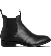 Office Cockney Leather Chelsea Boots Black Leather
