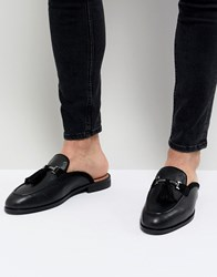 beac76fbf83 House Of Hounds Bardin Slip On Tassel Loafers In Black