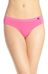 Women's Kensie 'Abby' Lace Back Cheeky Briefs