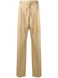 Calvin Klein 205W39nyc Side Stripe Tailored Trousers Neutrals