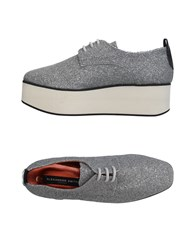 Alexander Smith Lace Up Shoes Light Grey