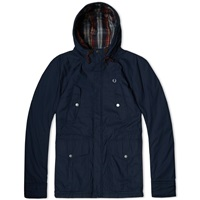 Fred Perry Portwood Jacket Dark Carbon