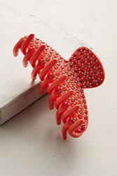 Anthropologie Corazon Hair Clip Red