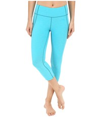 The North Face Motivation Crop Leggings Bluebird Heather Women's Casual Pants
