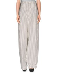 Mes Demoiselles Trousers Casual Trousers Women White
