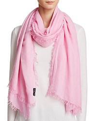 Fraas Lightweight Solid Scarf Pink