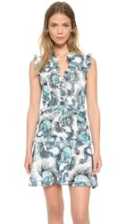 Just Cavalli Onirica Print Dress White Variant