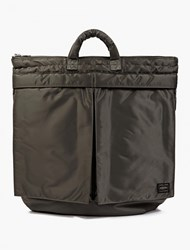 Porter Grey Tanker Helmet Bag