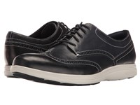 Cole Haan Grand Tour Wing Oxford Navy Ink Leather Vapor Grey Men's Lace Up Casual Shoes
