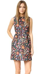 Red Valentino Flower Print Dress Multi