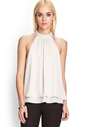 Forever 21 Beaded Halter Top