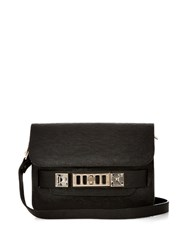 Proenza Schouler Ps11 Mini Leather Shoulder Bag Black