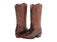 Roper Croco R Brown Cowboy Boots