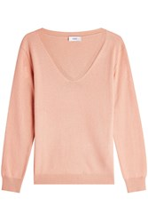 Closed Pullover With Wool And Cashmere Mauve