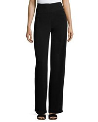 Nicole Miller Full Wide Leg Pants Black