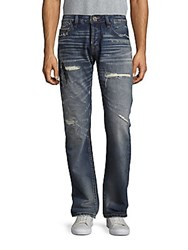 Cult Of Individuality Rebel Straight Leg Jeans Raven