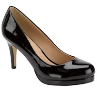 John Lewis Dallas Court Shoes Black