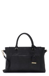 Vince Camuto Lina Leather Satchel Black
