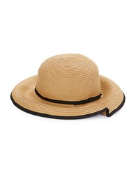 Genie By Eugenia Kim Franny Pleated Woven Sun Hat Tan