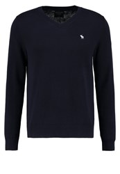 Abercrombie And Fitch Jumper Navy Dark Blue