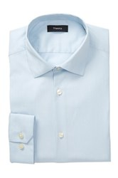 Theory Dover Slim Fit Dress Shirt Blue