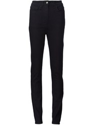 Tomas Maier High Waisted Jeans Black