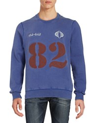 Eleven Paris Cobra 82 Sweatshirt Royal Blue