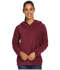 Royal Robbins Foxtail Fleece Hoodie Beet Women's Sweatshirt Red