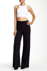 L.A.M.B. Double Crepe Bell Bottom Pant Black