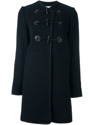 Carven Toggle Coat Blue